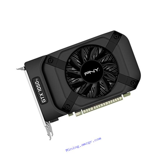 pny geforce® gtx 1050 ti 4gb