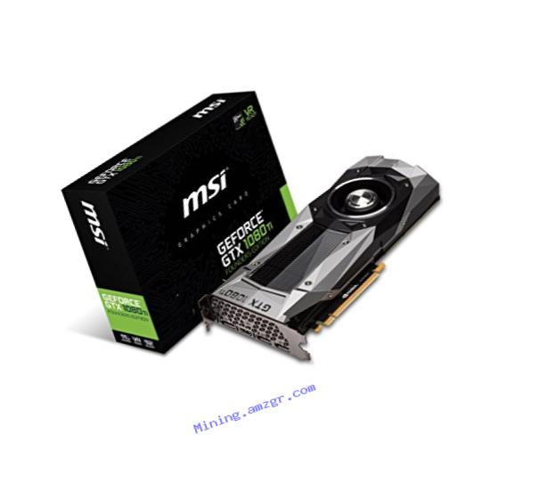 MSI GTX 1080 Ti Founders Edition Video Graphic Cards