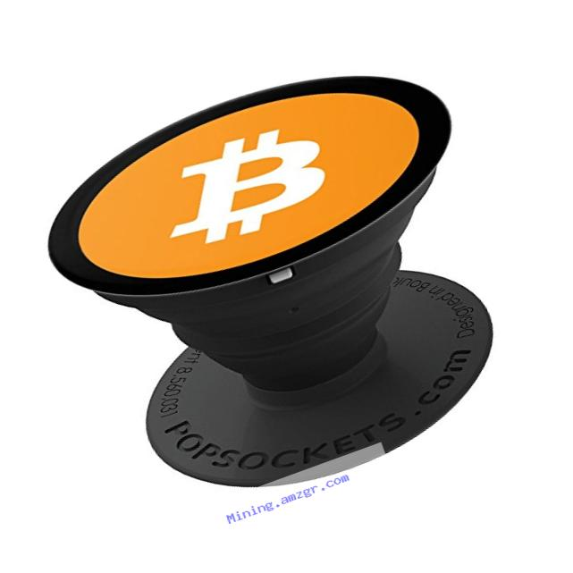 Bitcoin currency - PopSockets Grip and Stand for Phones and Tablets