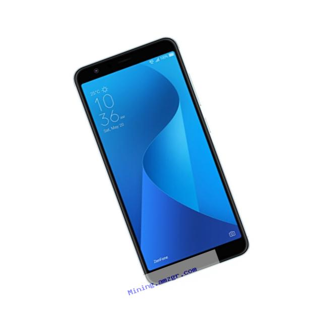 ASUS ZenFone Max Plus (ZB570) - 5.7??? 2160x1080-3GB RAM - 32GB storage - LTE Unlocked Dual SIM Cell Phone - US Warranty - Silver
