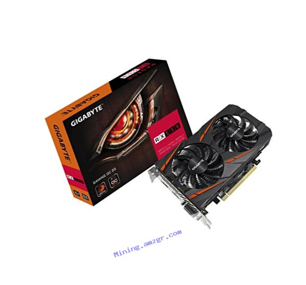 Gigabyte Radeon RX 550 Gaming OC 2GB Graphic Cards GV-RX550GAMINGOC-2GD